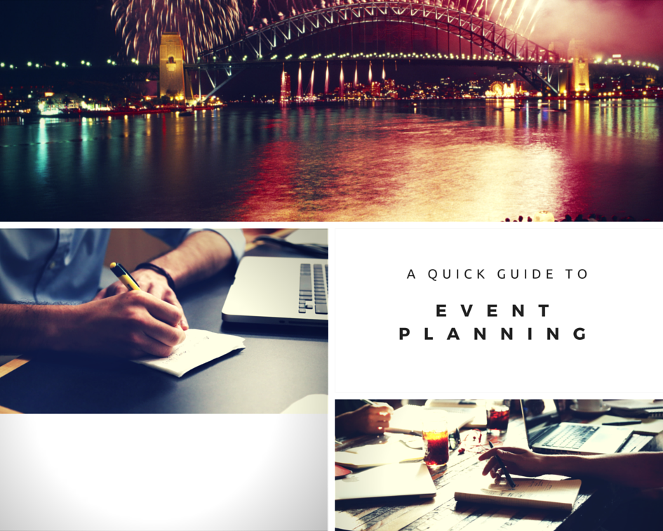 quick guide to event planning