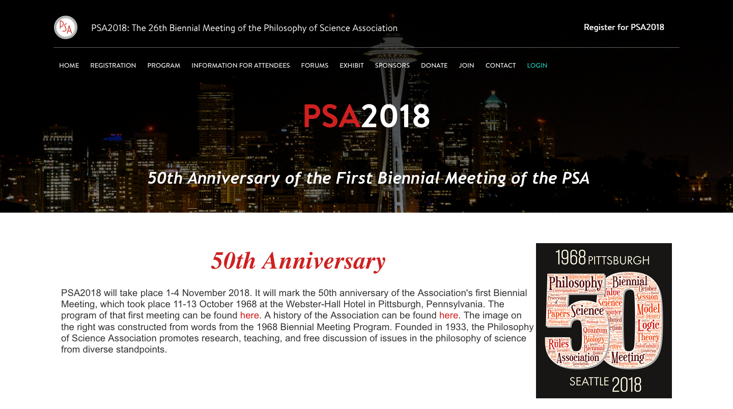 Philosophy of Science Association