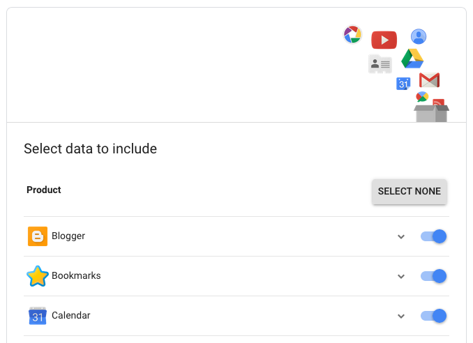 google-data-archive